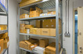 Secure storage for customer equipment until ready for deployment or for storage of client cold spares.